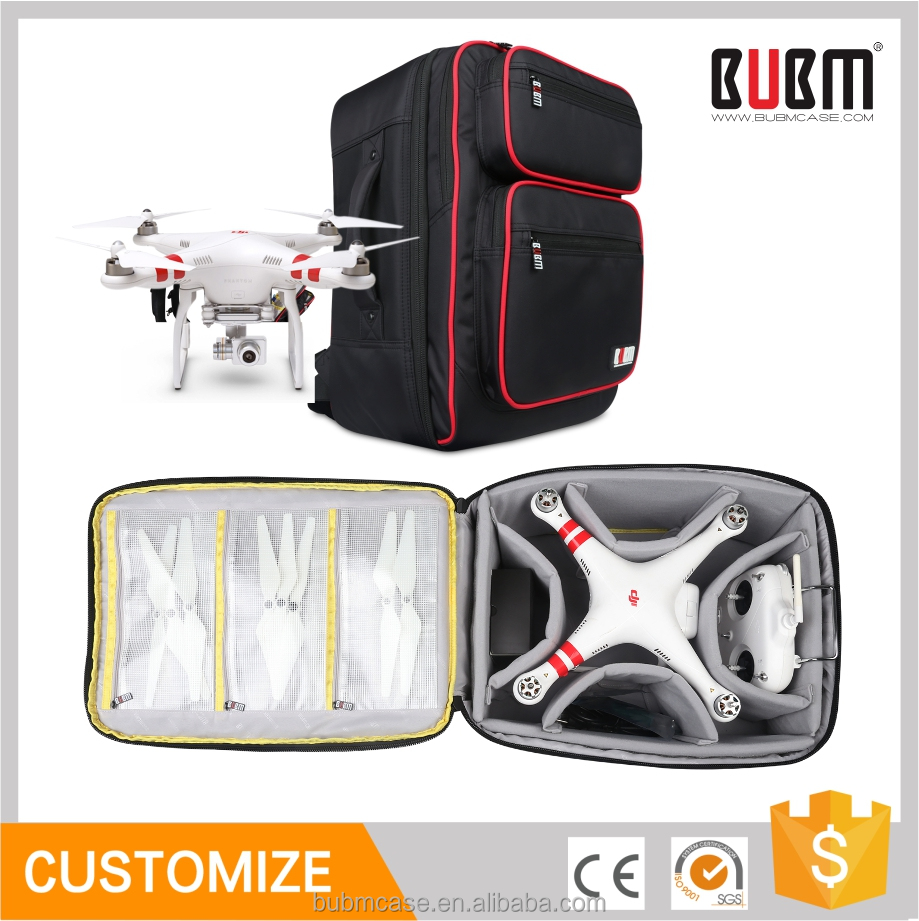 BUBM Waterproof Bag UVA Bag DJI Phantom3 Backpack Shoulder Quadcopter Drone With 4K Camera Bag