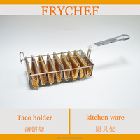 Taco Shell Fry Basket Stainless Steel 304