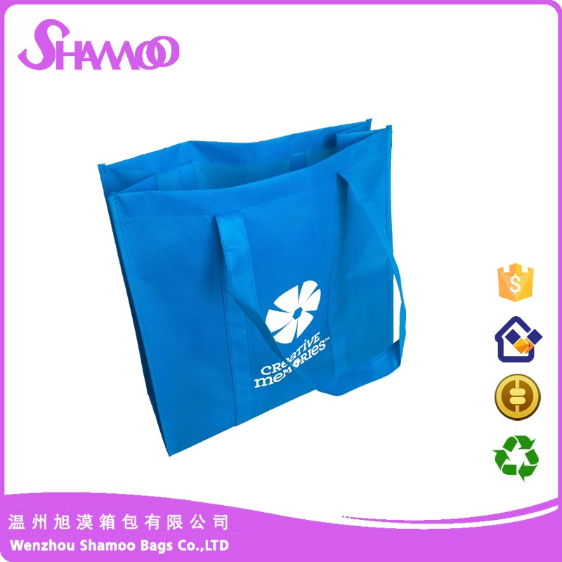 art work printing non woven grosery tote bag