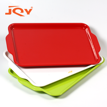 Restaurant hotel use large hard shallow plastic buffet fast food serving trays