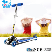 2016 best chinese Eco-friendly foldable children's scooters for older kids