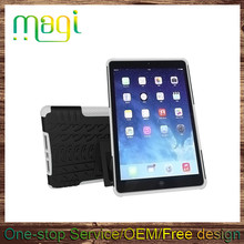 For Ipad 5 Cover Case 2 in1 Shockproof Standing Back Case for Ipad Air