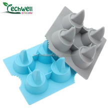 Classical model, hot selling silicone animal shape ice cube tray