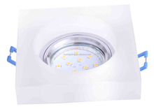 2017 hot sale LED ceiling light accessorise with metal finely processed mr 16 light crystal downlight housing fixture