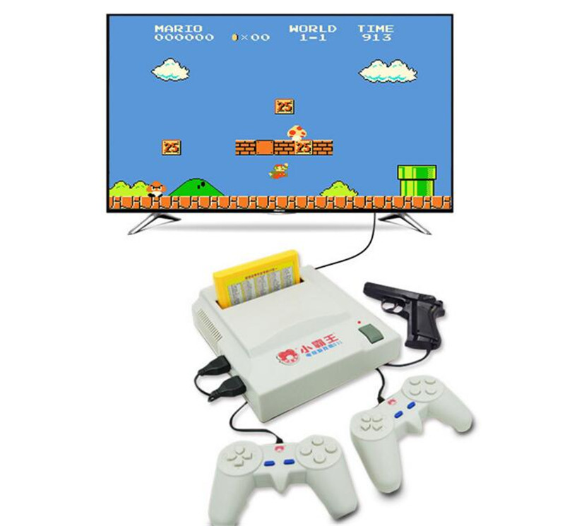 2017 NEW 8 bit TV Game Player Classic Red White Video Game Consoles