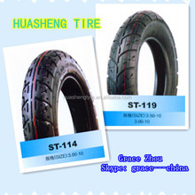 Motorcycle tire 3.00-10 with BIS certification