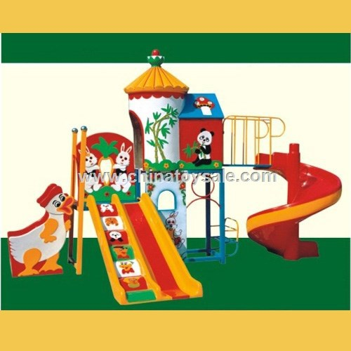 2015 Animal world series cheap high quality kindergarten outdoor playground