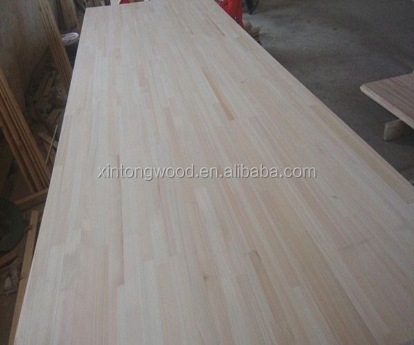 hinoki wood of finger jointed