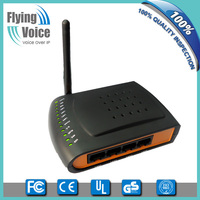 China Mobile supplier mini ip phone gateway with wireless 1 fxs 5 rj45 1 usb for soho G201N4