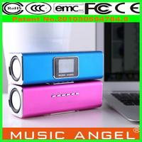 2014 Original Music Angel JH-MAUK5B mp3 speaker prefessional java music player for a touch screen phone
