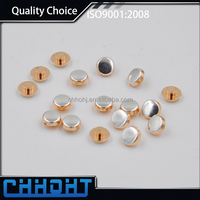 High Quality AgNi Electrical Sliver Contacts, Bimetal 9mm rivets, Tube Rivet