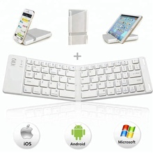 custom slim flexible foldable mini bluetooth wireless keyboard for smart tv