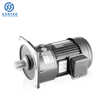 single phase 400w 1/2HP 230v small ac induction gear electric motor
