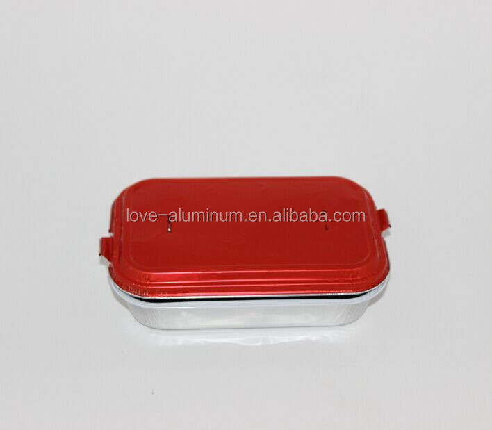 low cost meal microwave takeaway food packing aluminium foil container manufacturer