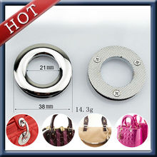 High quality larger rounded fancy metal eyelets