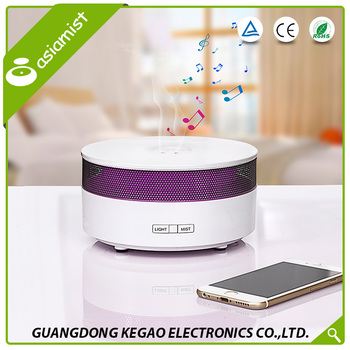 Wholesale China gold supplier nature SAA bluetooth music play humidifier clean air