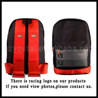 Sport And Racing Canvas JDM Racing Backpack Harness Backpack For All Car Enthusiast