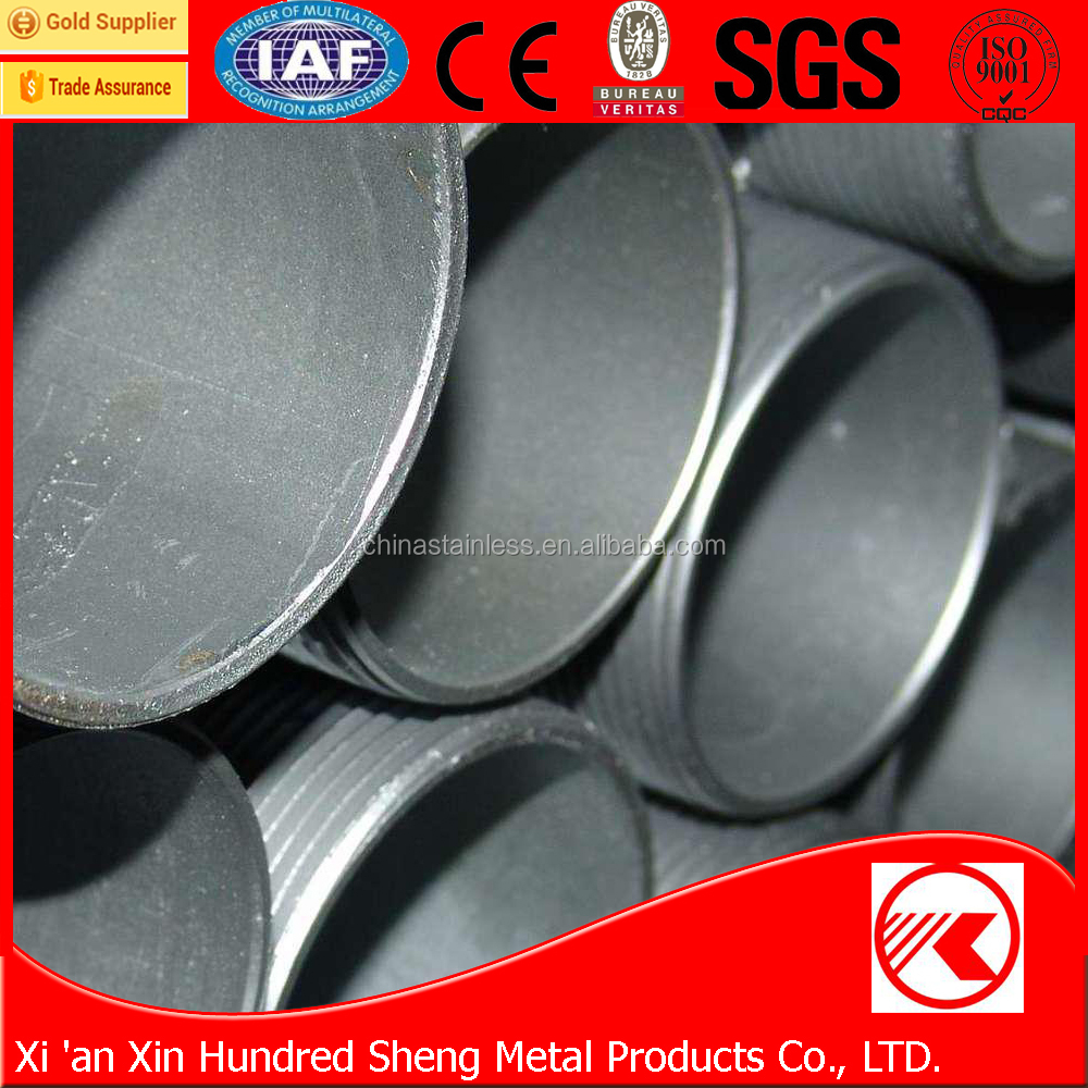 Building material Q195/Q235 erw welded pre galvanized square structure steel pipe/tube