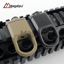 Hunting Accessories QD Steel Sling Mount Slings Buckle Plate Adapter Hook Attachment For 20mm Rail Rifles