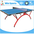 foldable rainbow leg table tennis table