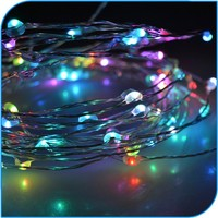 Christmas Decoration Promotion Adapt Powered Led Solar String Light