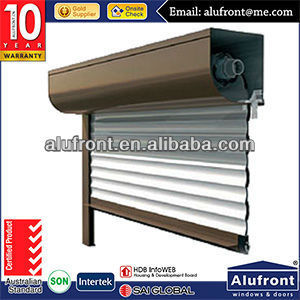 Customer's Made Aluminum Roller Shutter Door / Garage Door