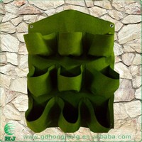Living Wall Vertical Garden Planter Bag Felt Material 9Pockets