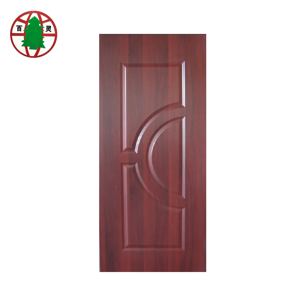 Hdf veneer plywood melamine mould door skins