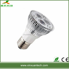 2 years warranty par20 led light 6w