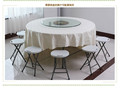 plastic folding round dining table