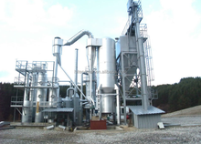 10MW Waste biomass Gasification Power plant rice husk gasifier electric generator wood chips gas plant