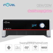 high resolution Native 3D 3800 ansi lumens 20000 Hours laser line projector , full HD digital cinema projector