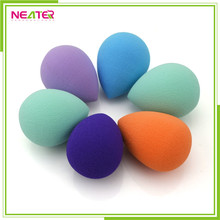 Colorful Small WaterDrop Non Latex Cosmetic Sponge Powder Puff