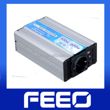 2014 new,hot sale 12 24V 300w DC to AC pure sine wave inverter