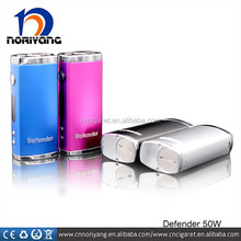 100% original item defender 50w powerful mini box mod with fast shipping