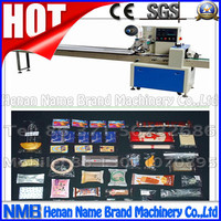 horizontal pillow bag ice lolly packing machine