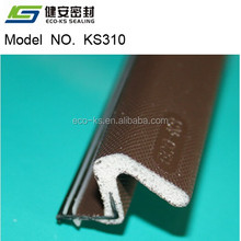 Door seal Q-lon PU Foam weatherstripping kerf seal for timber door