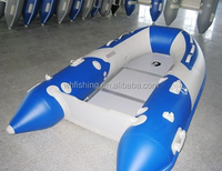 2015 CE Certification and PVC Hull Cheap Custom Design FRP Inflatable Boat for Sale