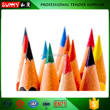 Multi Color Triangle Shaped Wax Crayon,Children Non-toxic Baby Crayon