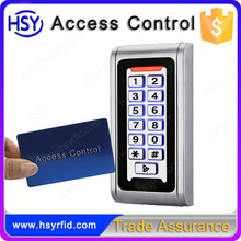 HSY Maker full waterproof keypad RFID stand alone reader