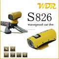 Newest S826 Sports CAR DVR 20m Waterproof CAR DVR