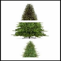 Custom Decoration Popular Artificial Christmas Tree Parts