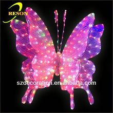 RS-Animal23 3D butterfly fiber optic christmas decorations