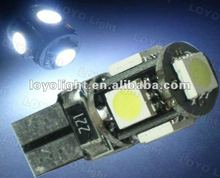Hot Sale Canbus 5SMD T10 LED Light Car