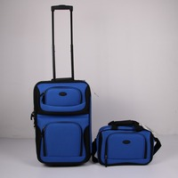 Stock Cheap Price 2pcs Trolley Luggage