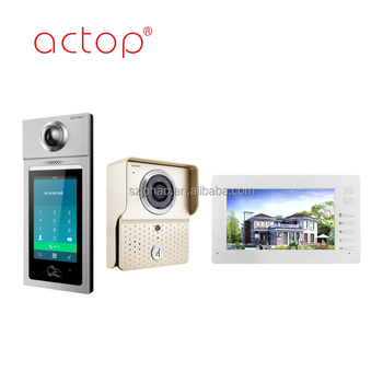 ACTOP Hot sale tcp ip video intercom system for building