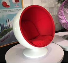 living room furniture replica leisure round shape swivel designer home lounge ball chair