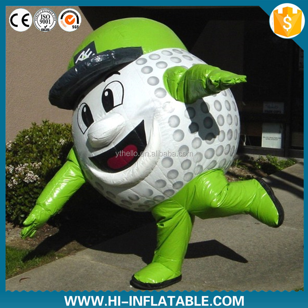 inflatable products/inflatable moving cartoon/inflatable costume for advertising