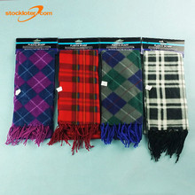 Multi patterns Cheap Polyester Scarves For Mens And Ladies Stocklots