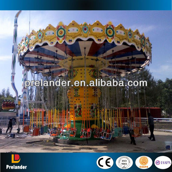 Amusement park ride flying swinger / flying chair for family